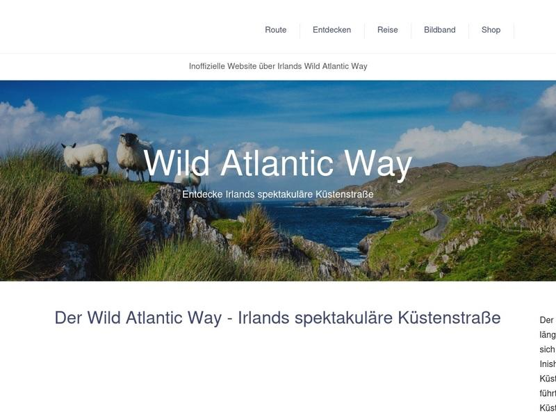 Screenshot von https://www.wild-atlantic-way.de/